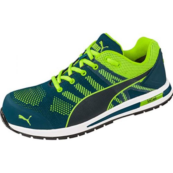 Puma Elevate Knit Green Low 643170 - S1P ESD
